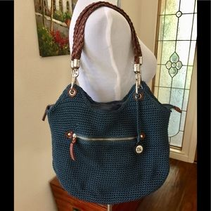 The SAK , Awesome Bag, Blue/Brown